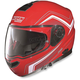 Red/White N104E Como Helmet