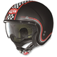 Flat Black/Red N21 Lario Helmet