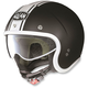 Flat Black/White N21 Caribe Helmet