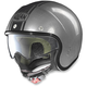 Scratched Chrome/Black N21 Caribe Helmet