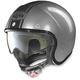 Scratched Chrome/Black N21 Caribe Helmet