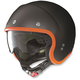 Flat Black/Orange N21 Durango Helmet