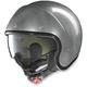 Scratched Chrome N21 Durango Helmet
