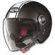 Flat Black/White N21 Visor Duetto Helmet