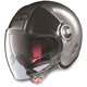 Scratched Chrome N21 Visor Duetto Helmet
