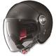 Flat Black N21 Visor Helmet