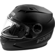 Youth Matte Black Nitro Helmet with Electric Shield
