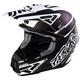 Matte Black/White Torque Commando Helmet