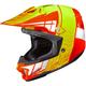 Orange/Hi-Viz Yellow/White CL-X7 Cross-Up MC-6 Helmet