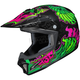 Youth Green/Black/Pink CL-XY 2 Eye Fly MC-4 Helmet