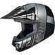 Youth Black/Gray/Silver CL-XY 2 Cross-Up MC-5 Helmet