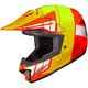 Youth Orange/Neon Green CL-XY 2 Cross-Up MC-6 Helmet