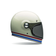 Stripes Pearl White Bullitt Helmet
