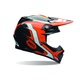 Orange/Black Moto-9 Carbon Flex Factory Helmet