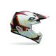 Moto-9 Black/White/Red Yellow Pace Helmet