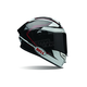 Black/White Ratchet Pro Star  Helmet