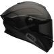 Matte Black Race Star Helmet