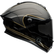 Matte Black/Gold Ace Cafe Speed Check Race Star Helmet