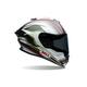Black/Silver Triton Race Star Helmet
