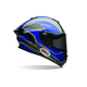 Blue/Yellow Triton Race Star Helmet