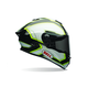 Black/White/Green Pace Star Helmet