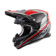 Silver/Red VX-R70 Ascend Helmet