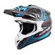 Blue Camo VX-35 Miramar Helmet