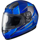 Youth Blue/Gray CL-Y MC-2 Striker Helmet