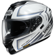 Black/White/Gray GT-Air Expanse TC-6 Helmet