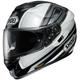 Black/White/Gray GT-Air Dauntless TC-11 Helmet
