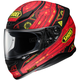 Red/Black/Yellow RF-1200 Vessel TC-1 Helmet