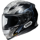 Black/White/Gray RF-1200 Diabolic TC-5 Helmet