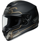 Matte Black/Gold Qwest Serenity TC-9 Helmet