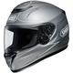 Matte Silver/White/Black Qwest Wanderlust TC-11 Helmet