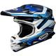 Blue/White/Black VFX-W Capacitor TC-2 Helmet
