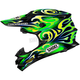 Green/Yellow/Black VFX-W Taka TC-4 Helmet