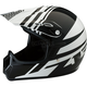 Youth Gloss Black/White Roost SE Helmet