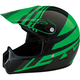 Youth Gloss Green Roost SE Helmet