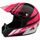 Youth Gloss Pink Roost SE Helmet
