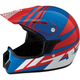 Youth Gloss Blue/Red/White Roost SE Helmet