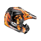 Orange/Black VX-Pro 4 Barcia Helmet
