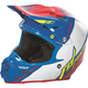 Blue/White/Red F2 Carbon MIPS Canard Replica Helmet