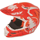 Orange HMK Stamp F2 Carbon Helmet