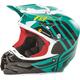 Teal/Black/White F2 Carbon MIPS Zoom Helmet