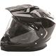 Black Trekker Helmet