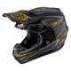 Black/Gold Pinstripe SE4 Carbon Helmet