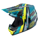 Green Air Beams Helmet
