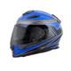 Blue/Black Tarmac EXO-T510 Helmet
