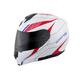 White/Red/Blue EXO-GT3000 Sync Modular Helmet