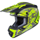Hi-Vis Yellow/Black MC-3HCS-MX 2 Squad Helmet